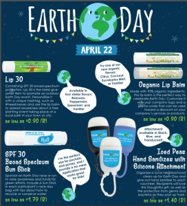 EARTH DAY IS SATURDAY, 4/22/17